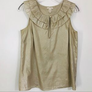 GORGEOUS J. CREW sleeveless blouse